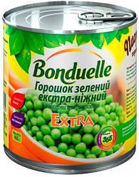 Новинки  Зеленый горошек Bonduelle экстра нежный, жестяная банка, 400 г