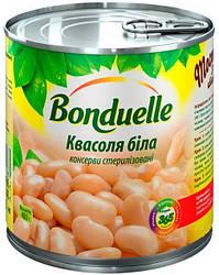 Акція -20% Фасоль Bonduelle белая, жестяная банка, 425 мл