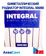 Биметаллический радиатор 500/80 INTEGRAL, фото 1