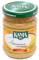 Акція -20% Горчица Кама Дижонская острая, стеклянная банка, 250 г