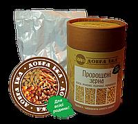 Проросшие зерна овса, ячменя, пшеницы, кукурузы от комп Чойс в коробке 300 г