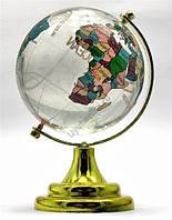 Глобус настольный цветной -  символ стремления к знаниям и активизации удачи.