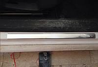 Volkswagen Passat B8 Накладки на пороги OmsaLine тип 1