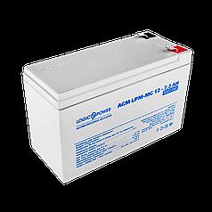Аккумулятор мультигелевый AGM LogicPower LPM-MG 12 - 7,2 AH