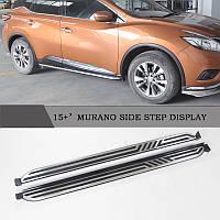 Nissan Murano 2014-2020 Боковые подножки V2