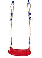 Детские подвесные качели Playtive 130-218см Красный, Синий, Белый