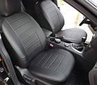 Чехлы на сиденья Рено Меган 2 (Renault Megane 2) (универсальные, кожзам, с отдельным подголовником), фото 3