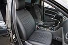Чехлы на сиденья Рено Меган 2 (Renault Megane 2) (универсальные, кожзам, с отдельным подголовником), фото 5