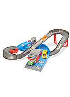Трек City Speedway Hot Wheels 38х25,5х6,5см Синий, Серый, Оранжевый