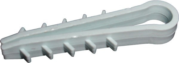Дюбель - ёлочка  4 mm кругл. (100шт/уп)