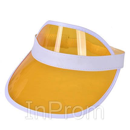 Пластиковый козырек Miami Yellow, фото 2