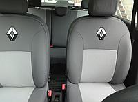 Чехлы на сиденья Рено Кенго (Renault Kangoo) (1+1, универсальные, автоткань, с отдельным подголовником)