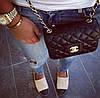 Женская сумочка Chaneеl  мини 19 см Сумки Шанелька копии лучшие цены . Клатч оптом Турция