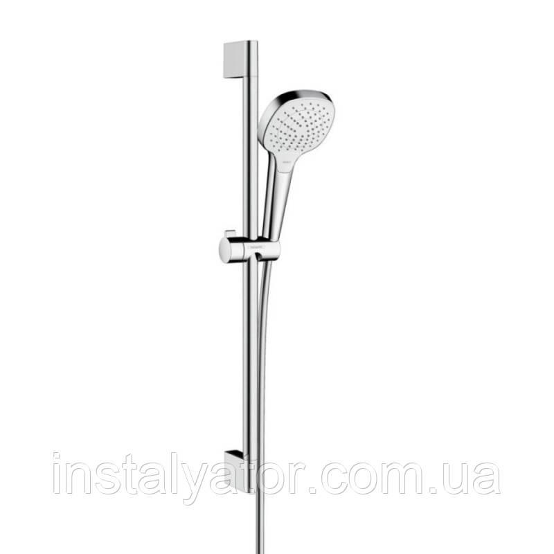 Hansgrohe Croma Select E 26582400 душевая стойка 0,65м (стойка+лейка+шланг)