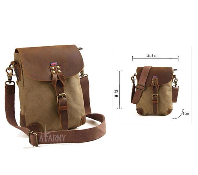 Винтажная сумка AKArmy размеры