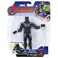 Фигурка Черная Пантера 15см Мстители - Black Panther, Avengers, Basic, Hasbro - 138344