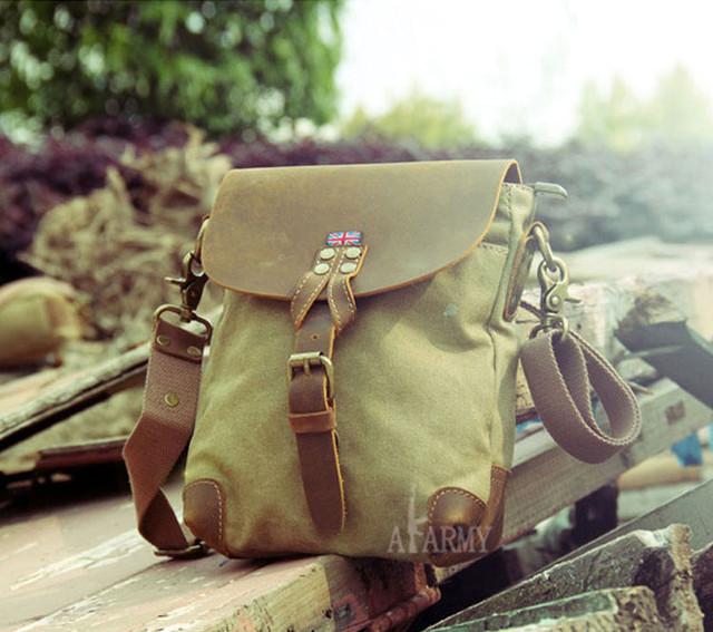 Винтажная сумка AKArmy внешний вид