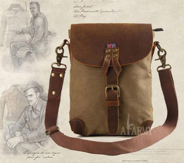 Винтажная сумка AKArmy обзор