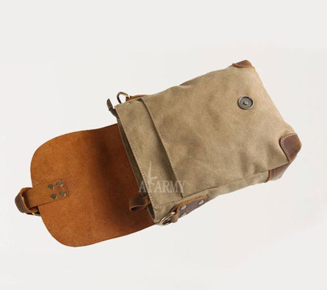 Винтажная сумка AKArmy вид сверху