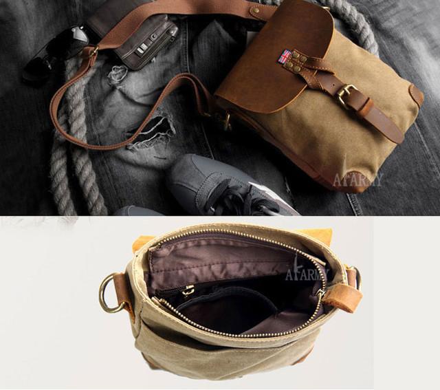 Винтажная сумка AKArmy
