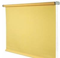 Ролета тканевая Декосити 98-170 Лен светло-желтый