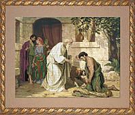 Набор для вышивки крестом КиТ 11010 Возвращение блудного сына