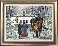 Набор для вышивки крестом КиТ 20112 Времена года. Зима