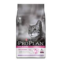 Сухой корм для кошек PURINA Pro Plan (Про План) Adult Delicate Turkey 10кг
