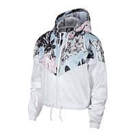 Куртки и жилетки женские W NSW HYP FM JKT CROP WR AOP(02-08-02-03) S, фото 1