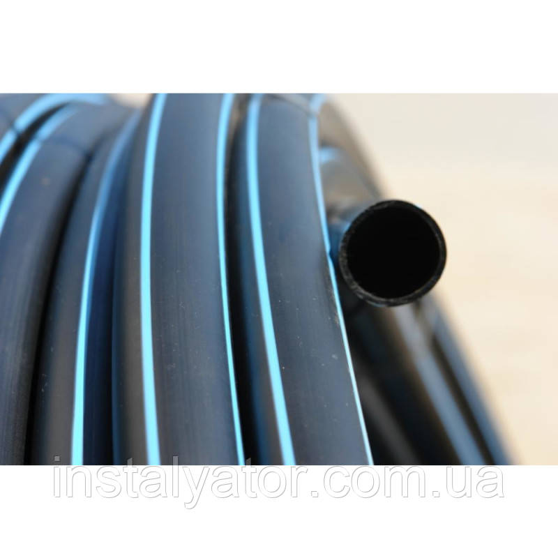 Труба для водоснабжения 3.8 мм PN6 * 63 (ПНД)