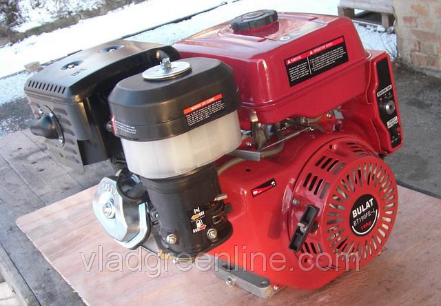 Двигун Булат BТ190FЕ-S (HONDA GX420) (шпонка, бензин 16л.з., електростартер)