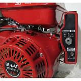 Двигун Булат BТ190FЕ-S (HONDA GX420) (шпонка, бензин 16л.з., електростартер), фото 4