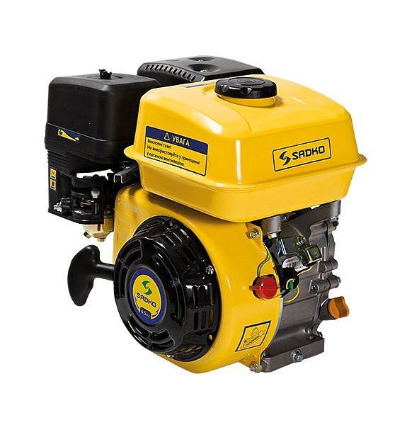 Двигатель бензиновый Sadko GE-200 PRO шлицевой (воздушный фильтр в масляной ванне) ( 6,5 л.с. )