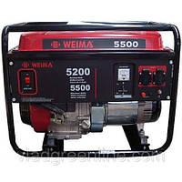 Генератор WEIMA WM5500E Автоматика (5,5 кВт) 1фаза, электростартер