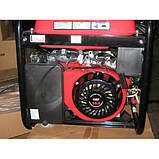 Генератор WEIMA WM7000E (7 кВт) 1фаза, электрост. бензин, фото 2