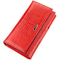 Кошелек женский KARYA 17234 кожаный Красный