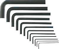 Ключи шестигранные 1.5-12 мм, набор 10 шт. Top Tools 35D056.