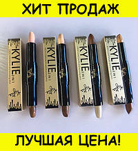 Консилер и бронзер Kylie concealer and bronzing stick 2 in 1 упаковка