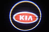 Подсветка дверей авто / лазерная проeкция логотипа KIA | Киа