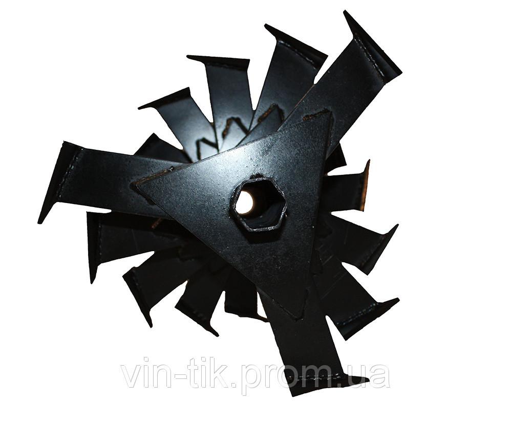 Фреза секционная на шестигранник 32 мм( 5 секций)