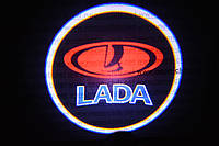 Подсветка дверей авто / лазерная проeкция логотипа Lada | Лада