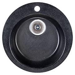Мойка кухонная Fosto D470 SGA-420 (черный)