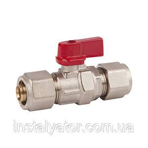 SD FORTE Кран шар. для М/П труб 20 х 20    SF263W20