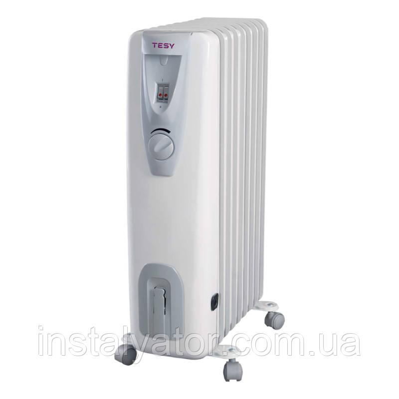 Эл.маслянный радиатор TESY  12 секций 2,5 кВт (СВ 2512 Е01R)