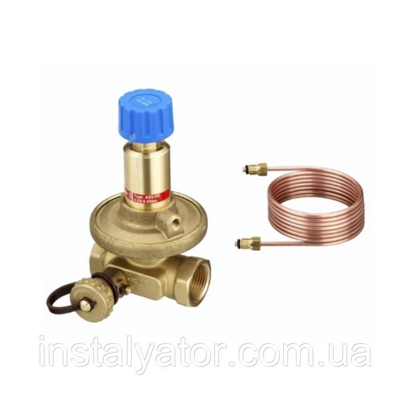 """Danfoss Балансировочный клапан ASV-PV 11/2"""" 0,2-0,6 бар (003L7715/003Z5545)"""