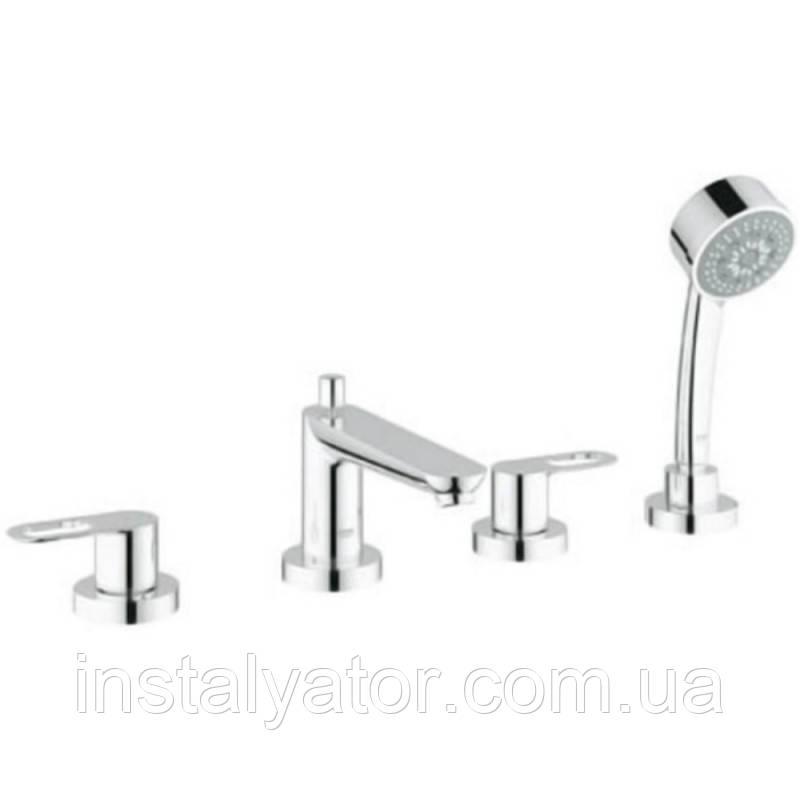 Grohe BauLoop 2511900A смеситель для ванной на 4 отверстия