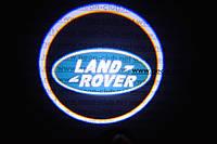 Подсветка дверей авто / лазерная проeкция логотипа Land Rover | Ленд Ровер