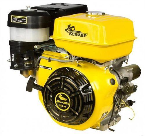 Двигатель Кентавр ДВС-420 БЭ(электростартер,15 л. с.,бензин)