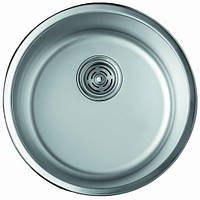 Мойка кухонная Cristal UA7101ZS (ROMA) круглая врезная 420x180 Decor