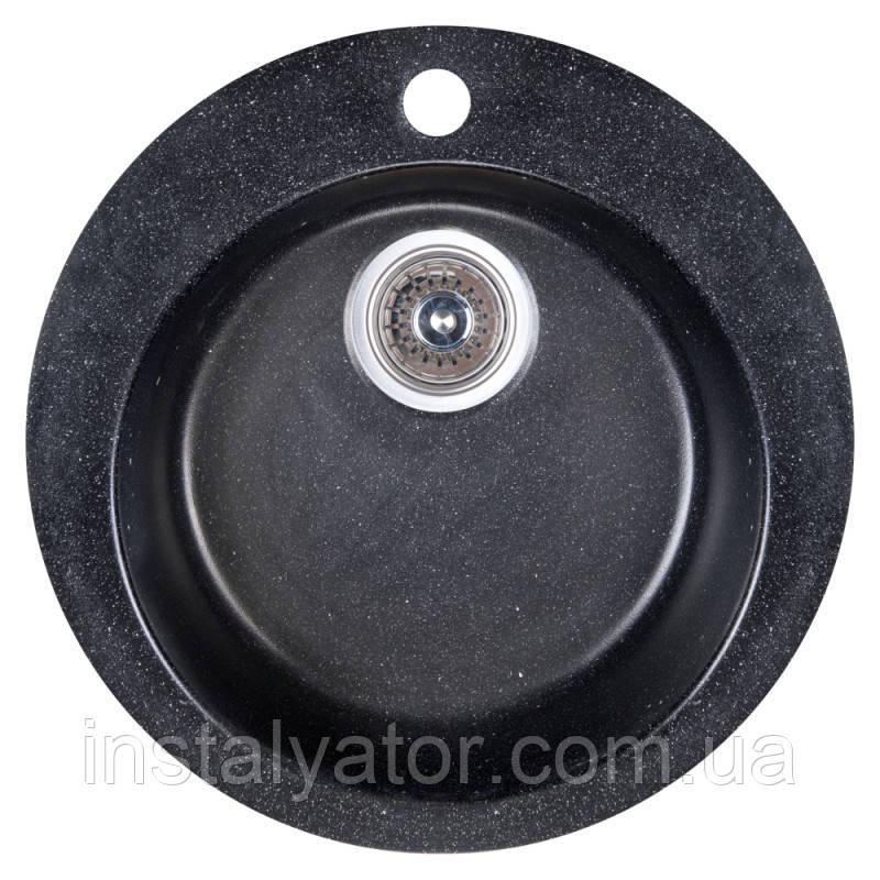 Fosto Мойка D470 SGA-420 (черный)